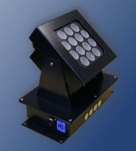 LED RGB Strahler aussen innen IP65 Geringe Energie und Wärmeentwicklung