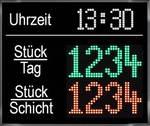 LED Stückzähler Tafel www.industrie-vertretung.de